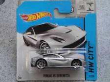 Modellini statici di auto, furgoni e camion Hot Wheels argento per Ferrari