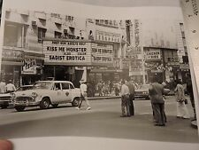 1970 Checker Taxi Cab 42nd St. Times Square New York City NYC Photo