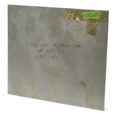 Mil T 9046 Ab 1 6al 4v Titanium Sheet 0125 X 17 X 20