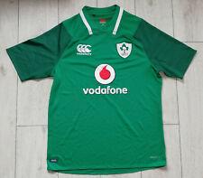 "Ireland Rugby 2017/2018 ""XL"" Shirt Canterbury Home Jersey IRFU Trikot Top"