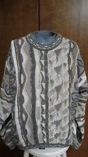 Tundra Textured Cotton Sweater, Canada, Men's M