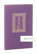 J.V. Cunningham / Dickinson: Lyric and Legend / Signed Limited First Edition