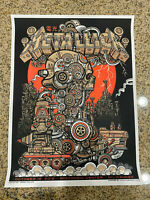 Metallica - Milwaukee Wisconsin Center October 16, 2018, Jesse Philips AP Print