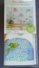 RoomMates Peel & Stick wall decals. NEW IN BOX/59 decals!