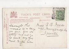 Halesworth 4 Nov 1905 Squared Circle Postmark 387b
