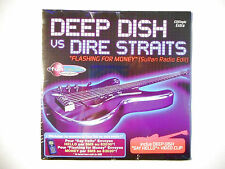 DEEP DISH vs DIRE STRAITS : FLASHING FOR MONEY ♦ CD SINGLE NEUF ♦
