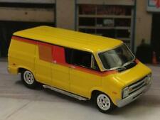1st Gen 1971 - 1978 Dodge Ram Conversion Van 1/64 Scale Limited Edition XX9