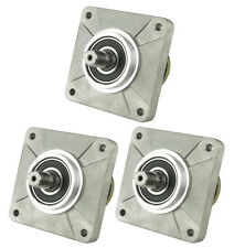"""Set of 3 Spindle Assembly for 46"""" Deck MTD 918-0240, 600 800 Series Riding Mower"""