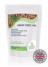 Olio di Semi di Canapa 300mg Grassi Acido Supplemento 30/60/90/120 /180/250