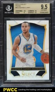 2013 Select Silver Prizms Stephen Curry #86 BGS 9.5 GEM MINT