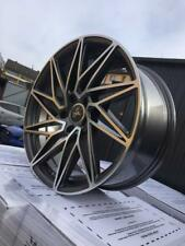 19 Zoll Keskin KT20 Future Felgen 5x112 et45 grau für Audi VW Skoda Seat GTI S3