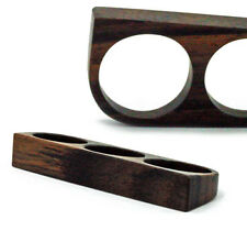 Triple Finger Ring Solid Sono Wood