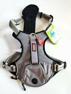 Kong Small Comfort + Reflective Grey Waste Bag Harness NEW Large Girth 24-33 in