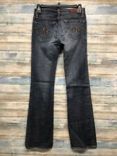AG Adriano Goldshmied Women's Jeans 27 x 33 Angel Boot cut Stretch   (e-62)