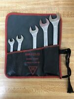VTG Companion 5 Piece Combination Wrench Set 11/16 5/8 7/16 9/16 3/8 Made In USA