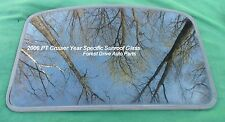2006 CHRYSLER PT CRUISER YEAR SPECIFIC FACTORY OEM SUNROOF GLASS FREE SHIPPING!