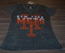 VINTAGE STYLE WOMEN'S TEEN NEW YORK METS MLB BASEBALL T-shirt LARGE NEW w/ TAG