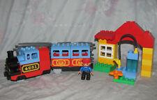 Lego Duplo 4281 Set - My First Train Set - Incomplete, Working Train