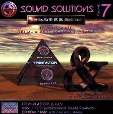 MasterBits / Sound Solutions 7 / TRMINATOR PLUS / Sampling-CD / WAV