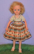 "Pedigree Little Miss Vogue 10"" 1959 England Revlon Type Teen Fashion Doll 50'S"