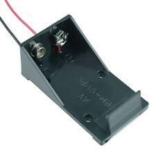 5 X Soporte De Batería PP3 9V con contactos 150mm