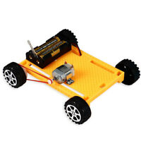 KE_ BL_ FP- DIY Electric 4WD Car Vehicle Model Science Experiment Kit Kids Edu