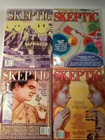 Skeptic Magazine Lot of 4 Science Religion Christian Origins Conspiracy Theories