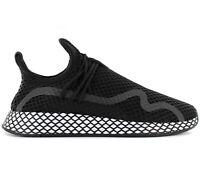 adidas Originals Deerupt S Herren Sneaker BD7879 Schwarz Schuhe Turnschuhe NEU
