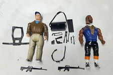 Vintage 1983 Galoob The A-Team Ba Baracus Murdock *complete toolbox* weapons M16