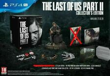 THE LAST OF US PART II 2 COLLECTOR'S EDITION SONY PS4 NEW CONTENT ONLY! NO GAME!