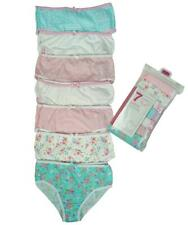 Girls Briefs 7 Value Pack Knickers Floral Underwear Cotton Pants 2 to 13 Years
