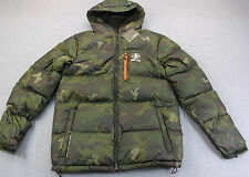 RLX RALPH LAUREN Men Green Camo Down Ripstop Quilted Hooded Jacket NWT XLT $450