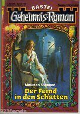 GEHEIMNIS - Roman Nr. 160 / (1979-1985 Bastei) / DER FEIND IN DEN SCHATTEN