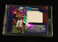 2019 CERTIFIED KYLER MURRAY MIRROR BLUE RPA 2 COLOR PATCH AUTO RC #'d 08/49!