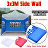 3x3M Gazebo Marquee Party Tent Side Wall Window Waterproof Garden Outdoor Canopy