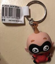 PORTE CLES / Keychain Disneyland Paris JACK JACK PVC SOUPLE