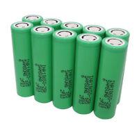 10pcs 18650 2500mAh 25R 3.7V Battery Li-ion INR High Drain Rechargeable-Vape