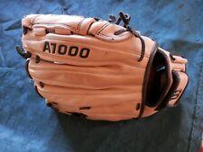 wilson A1000, 12.5 inch, fp125 ball glove, RHT