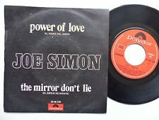 JOE SIMON Power of love El poder del amor 2066226