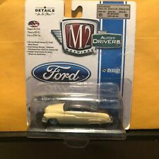 1/64 M2 DRIVERS 1949 CUSTOM MERCURY COUPE BEIGE AND BROWN