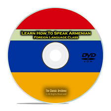 Learn How To Speak Armenian, Fast Easy Foreign Language Training Course DVD G93