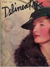 1935 Delineator October - Passport to Hollywood;Pimples are skin blood irritants