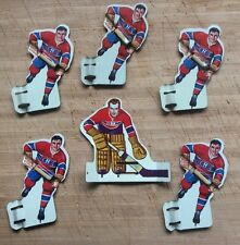 1960's Eagle Toys Table Hockey Players - Montreal Canadiens Nice Set!