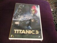 "DVD NEUF ""TITANIC 3"" film d'horreur de Jeff LEROY"