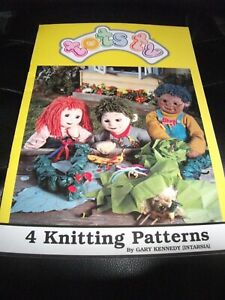 4 Tots Tv Jumper Patterns By Gary Kennedy