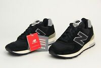 New Balance Made In USA Japan Exc Suede Shoes Black-Silver-Grey M1400BKS Mens SZ