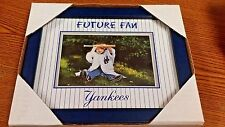 "MLB NEW YORK YANKEES ""FUTURE FAN"" PICTURE FRAME NEW IN BOX"