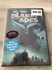 Planet of the Apes DVD ** Brand New Sealed ** 2 Disc set Mark Whalberg