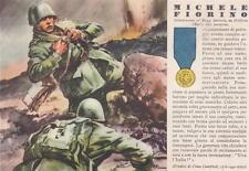 A6488) WW2 FRANCIA, 37 REGGIMENTO RAVENNA, M. O. FIORINO DA MOLFETTA (BARI).