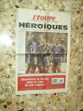 Journal L EQUIPE 1998 FRANCE CROATIE 1/2 FINALE COUPE DU MONDE FRANCE 98 THURAM